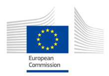 Euro Commission building logo